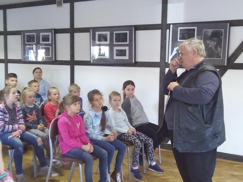 Spotkanie z autorem bajek dla dzieci
