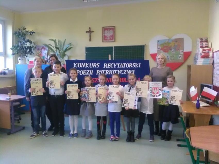Konkurs Recytatorski Poezji Patriotycznej