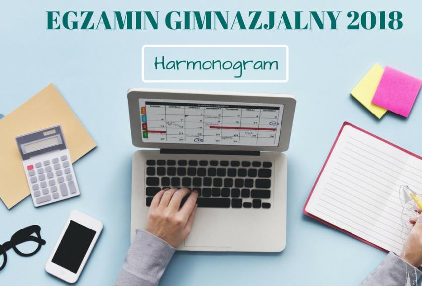 EGZAMIN GIMNAZJALNY - HARMONOGRAM DOWOZÓW