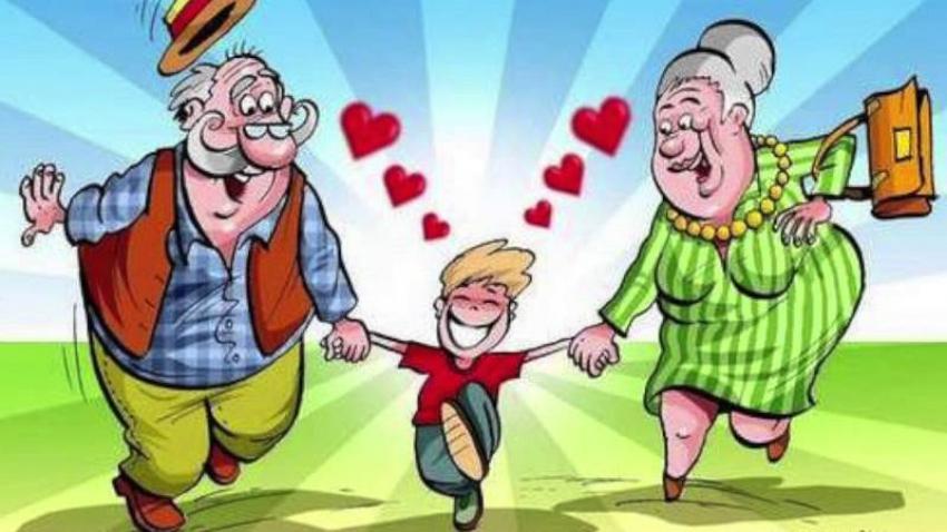 Wszystkiego najlepszego dla wszystkich Babć i Dziadków