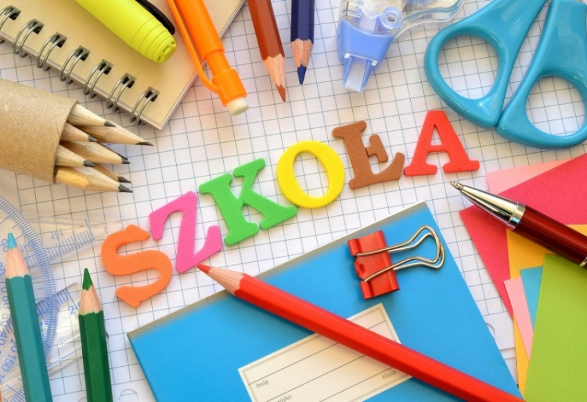 Wyprawka ucznia klasy I w roku szkolnym 2020/2021